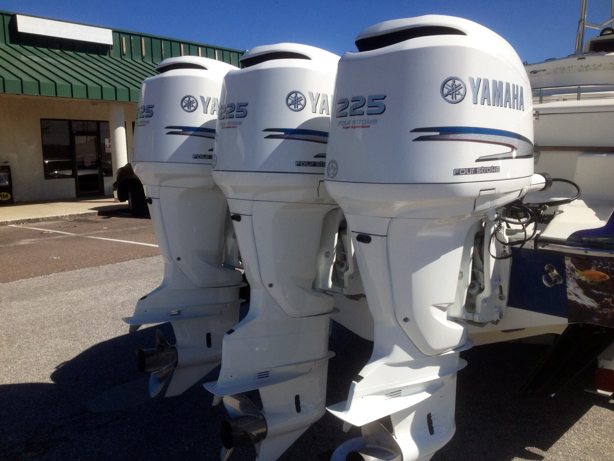 Used Yamaha Outboard Engines For Sale