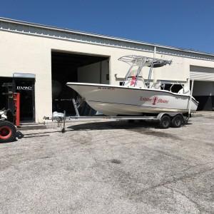 boat paint, boat painting, custom, key west