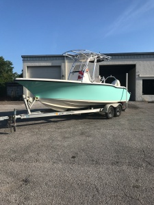 boat painting, boat paint, awlgrip, custom