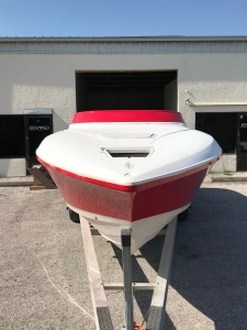 boat painting, fiberglass, donzi, custom, hudson, port richey, tarpon springs, custom paint