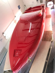 boat painting, custom paint, donzi, fast boat, awlgrip, tarpon springs, spring hill, hudson,port richey, clearwater