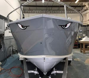 boat painting, chris brand, restore, restoration, custom, cape horn,
